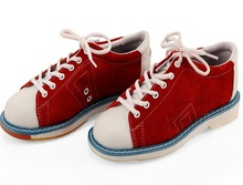 leather women Bowling Shoes With Skidproof Sole