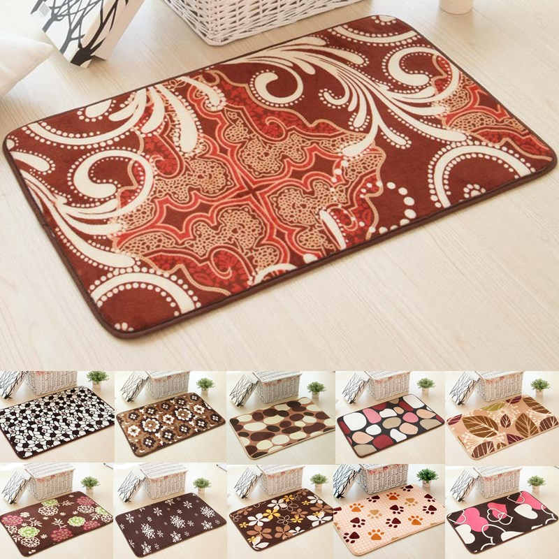 1pcs Stone Flower Heart pattern Anti-Slip Carpet Door mats doormats Outdoor Kithchen Bathroom Living & Compare Prices on Stone Door Entrance- Online Shopping/Buy Low ... pezcame.com