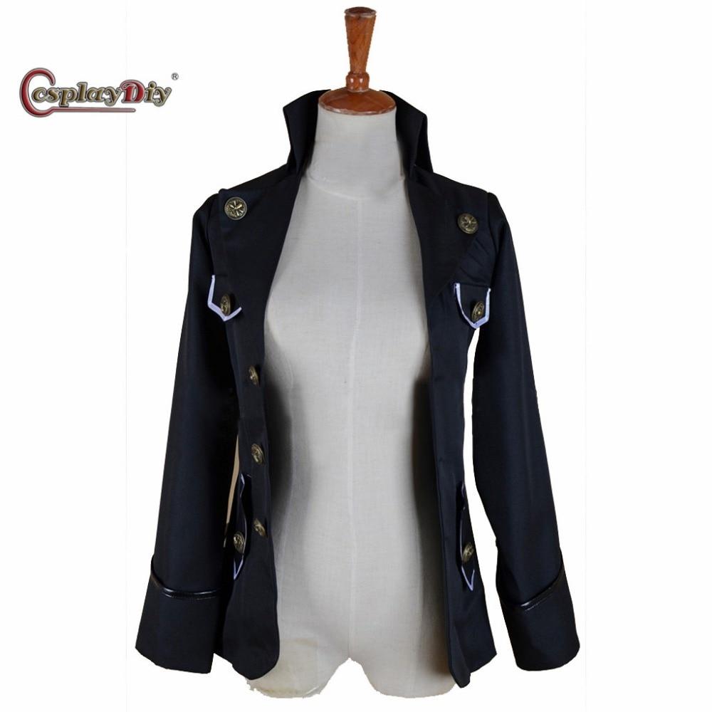 Cosplaydiy Custom Made Game Final Fantasy XV Cor Leonis Jacket Adult Men Halloween Carnival Cosplay Costume J5