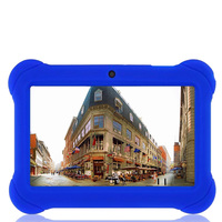 BDF New 7 Inch A33 Comfortable Silicone Sleeve Kids Tablet PC Android 4 4 Dual Cameras