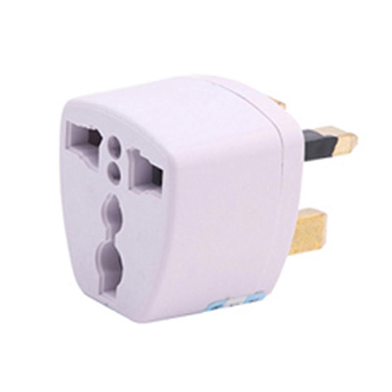 2019 Universal AU US EU To UK Travel Wall Adapter Converter 3 Pin AC Power Plug