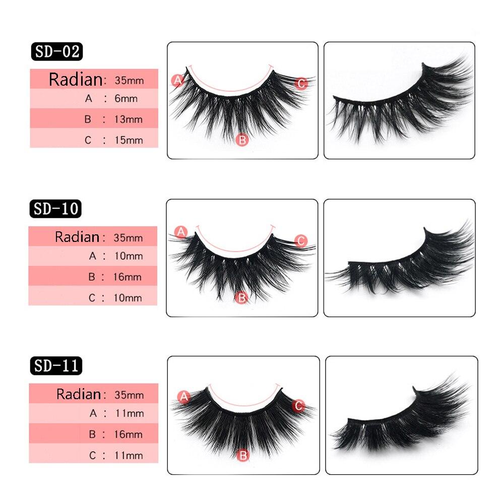 d2a2d4defc8 1 Pair 3D Mink Eyelashes Thick Cross Long Lashes Luxury Handmade Mink  Lashes Medium Volume Wispy Upper Mink False Eyelashes-in False Eyelashes  from Beauty ...
