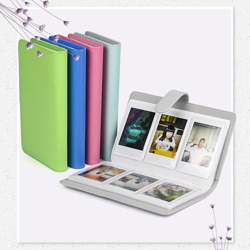 96 Pockets PU Leather Instant Photo Album Picture Case For Fujifilm Instax Mini8/9/7s/7C/25/70/90 3 Inch Mini Film Photo Album