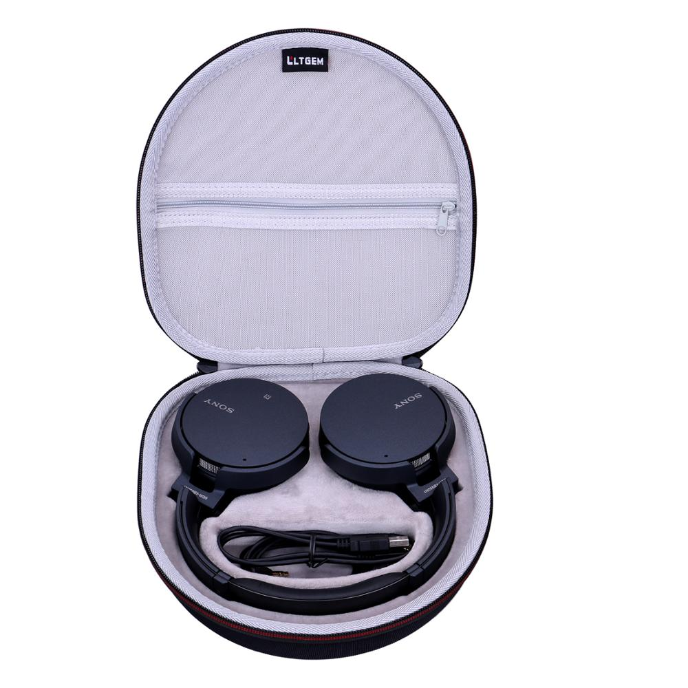 LTGEM  EVA Waterproof Shockproof Hard Case For Sony XB950N1 Extra Bass Wireless Noise Canceling Headphones