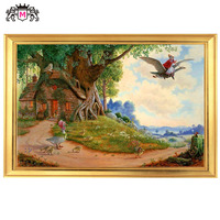 Golden Panno,Needlework,Embroidery,DIY Portrait Painting,Cross stitch,kit,14ct Old Mother Goose Cross stitch,Sets For Embroidery