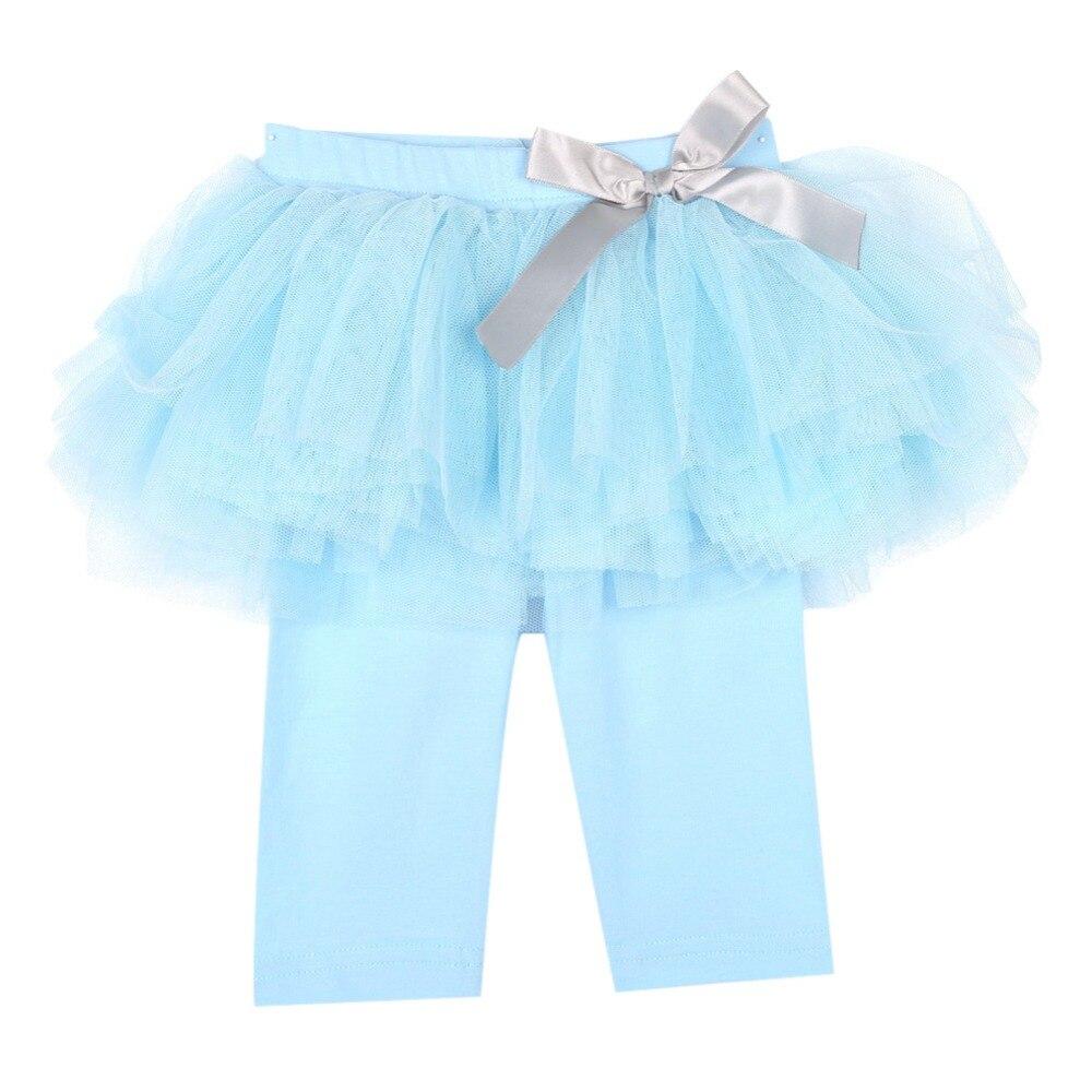 Princess-Girl-Kids-0-3Years-Culottes-Leggings-Gauze-Pants-Party-Bow-Tutu-Skirts-Hot-3