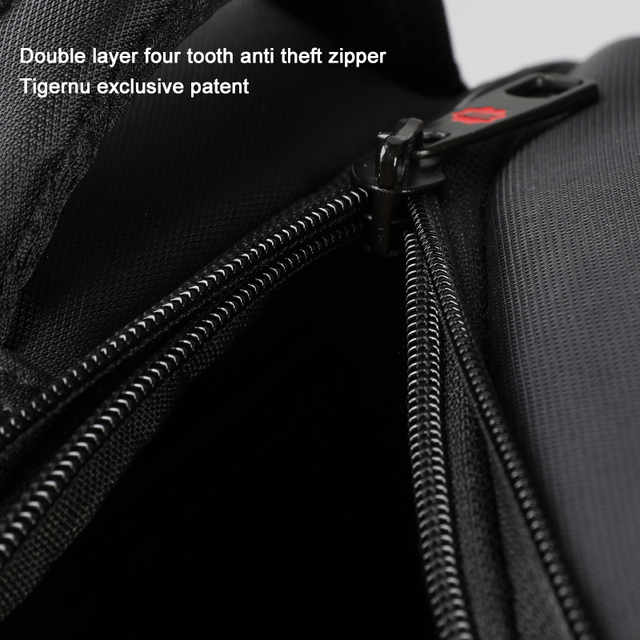 Tigernu Anti Theft Nylon 27L Men 15.6 inch Laptop Backpacks School Fashion Travel Male Mochilas Feminina Casual Women Schoolbag 1