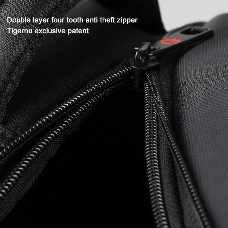 Tigernu Anti Theft Нейлон 27L Мужчины 15.6 дюймов Рюкзаки для Ноутбука Мода Путешествия Мужской Повседневная Женская Школьная сумка