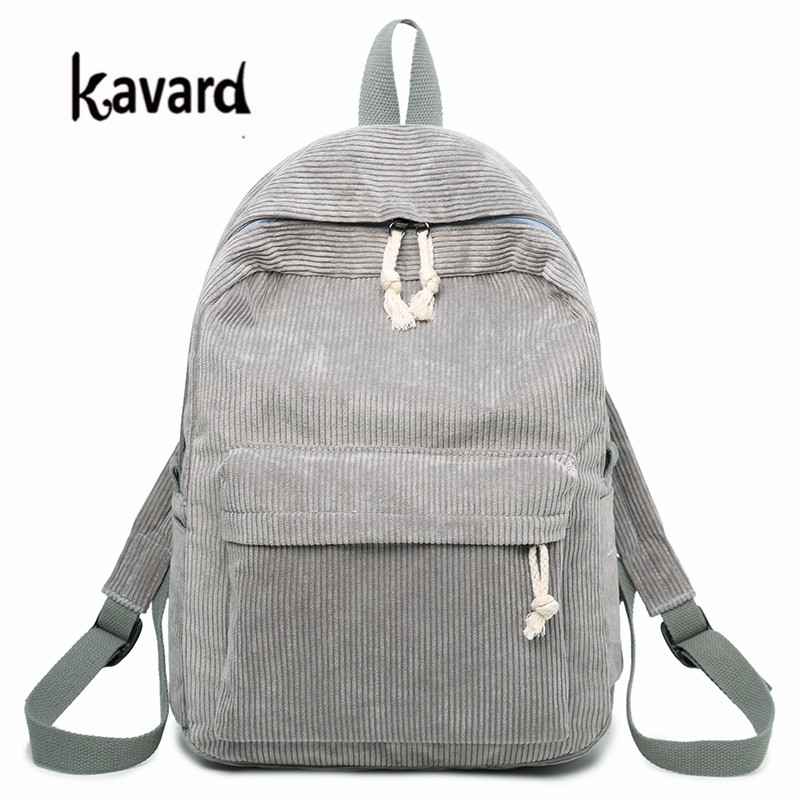 Kavard Backpacks Women Nylon Bagpack Softback Solid Bag Fashion Soft Handle Mochilas Mujer Escolar Rucksack School Bag For Girls #2