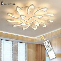 Modern LED Ceiling Light For Living Dining Room Bedroom Lustres Led Chandelier Ceiling Lamp lampara deco techo Lighting Fixtures