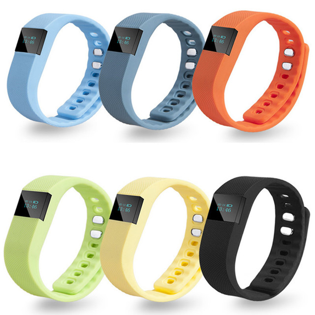 Smart Watch Fitness Tracker Bluetooth 4.0 Sport Bracelet Smart Wristband Pedometer for iOS Android TW64 PK Mi band