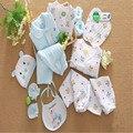 2016 NOVA Outono Inverno Roupa Do Bebê Recém-nascido Set 14 Peça algodão Bebê Menino Roupas de Inverno Conjuntos de Roupas de Bebê Menina Infantil roupas