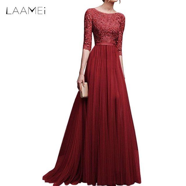 evening dresses for plus size women 2018