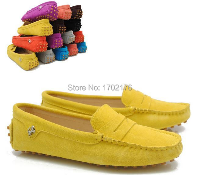 5d933fb55b8 New 2015 Summer Women Slip On Flats Shoe Leather Fabric Casual Lady Loafers  Ballerina Female Fashion Moccasins Zapatos Mujer en Pisos de las mujeres de  ...