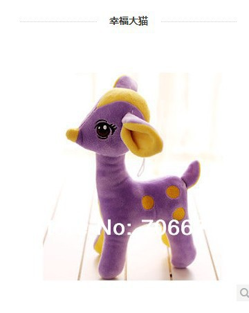 about 50cm purple lifelike sika deer  plush toy doll quality goods gift  t5625 stuffed animal 120 cm cute love rabbit plush toy pink or purple floral love rabbit soft doll gift w2226