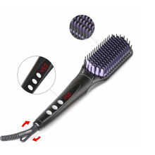 Beauty Hair Straightener brush Smoothing Hairbrush Lcd Thermoregulator Hair Straightener Brush Straightening Comb