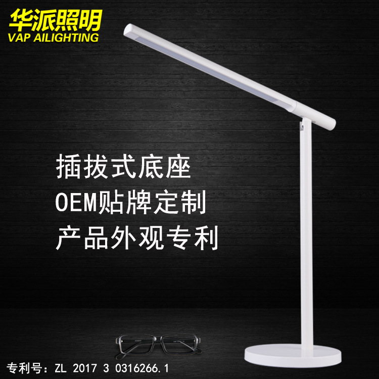 Desk Lamp Clip Office Led Desk Lamp Flexible Led Table Lamp Reading Led Light 3-Level Brightness&Color super bright led desk lamp 15w slide control metal table lamp 6 level brightness 6 color modes adjustable reading lights