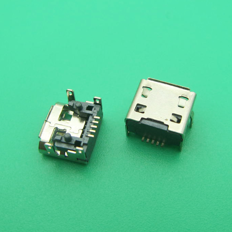 5pcs Micro usb <font><b>charge</b></font> charging connector plug dock socket port jack replacement <font><b>repair</b></font> for <font><b>JBL</b></font> FLIP <font><b>3</b></font> Bluetooth <font><b>Speaker</b></font> image