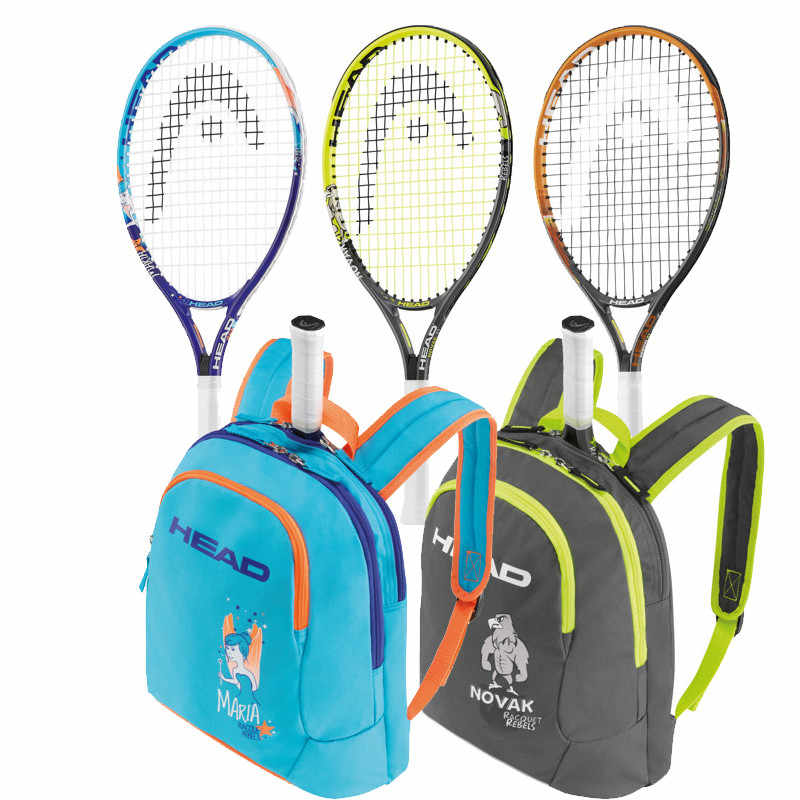 New Arrival Head Children Kids Tennis Racket 21/23/25 Inch Light Tennis Racket With Tennis Bag Racchette Da Tennis for boys girl