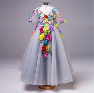 Image 1 - Vestido de princesa para niñas pequeñas, ropa de verano, informal, escolar