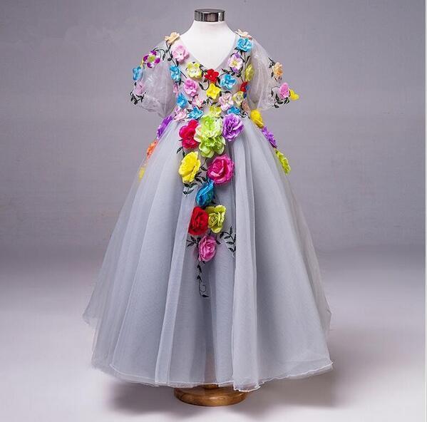 Vestido de princesa para niñas pequeñas, ropa de verano, informal, escolar