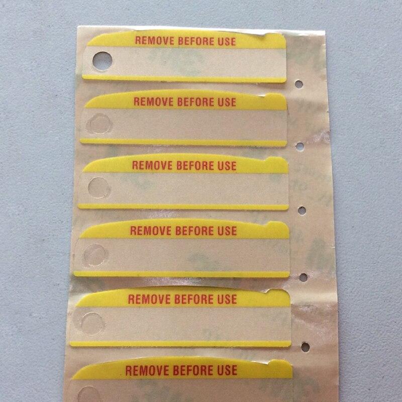 50X Remove Before Use Label For Motorola XTS2500 XTS1500 XTS2250 XTS2500I