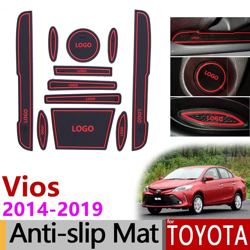 Toyota Yaris Ativ Trd Brand New Vellfire Price In Malaysia Anti Slip Gate Slot Mat Rubber Coaster For Vios Xp150 2014 2015 2016 2017 2018 2019 Accessories Stickers