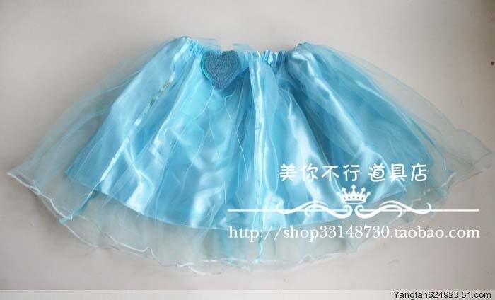 Props dance clothes flower girl props child princess puff skirt dress gauze skirt