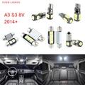 7pcs LED Canbus Interior Lights Kit Package For Audi A3 S3 8V (2014+)