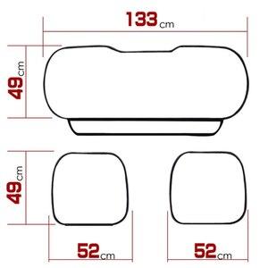 Image 2 - ครอบคลุมที่นั่งรถUniversal PUหนังฝาครอบที่นั่งFour Seasonsรถยนต์ครอบคลุมเบาะAutoอุปกรณ์ตกแต่งภายในMat Protector