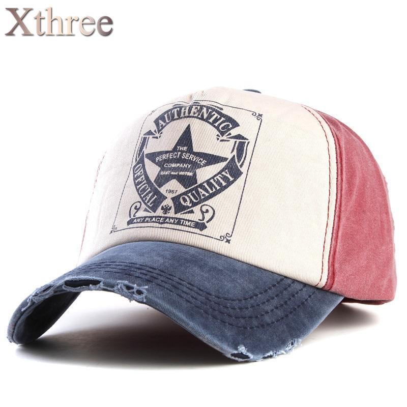 [Xthree]retro baseball cap women fitted cap snapback hats ...