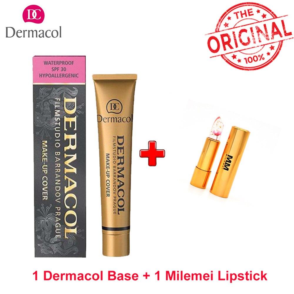 Dermacol Make up Cover 30g Primer Concealer Base Professional Face Dermacol Makeup Foundation Contour Palette Makeup Base