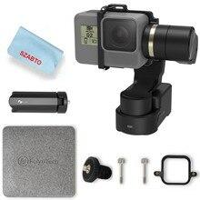 FeiyuTech WG2X 3-Eixo Cardan Câmera Ação Wearable 7 Estabilizador para GoPro HERO/6/5/4 /sessão Sony RX0 Qualquer Câmeras de Tamanho Semelhante