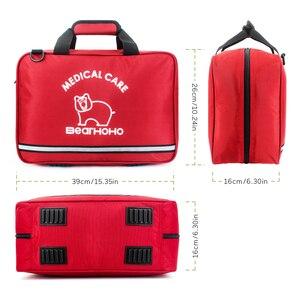 Image 3 - 높은 품질 핸디 빈 응급 처치 가방 응급 키트 간호사/의사 의료 장비 악기 가방 가족 병원