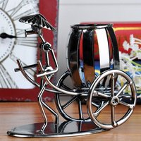 Simple modern iron stroller pen desktop decoration indoor furnishings study decorations birthday gifts boys WL5231558