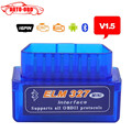 Best quality Super Mini ELM327 Bluetooth V1.5 OBD2 Auto Code Reader Mini 327 Car diagnostic interface ELM 327 Bluetooth