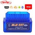 La mejor calidad Super Mini ELM327 Bluetooth V1.5 OBD2 Lector de Código Automático Mini 327 de diagnóstico Del Coche interface ELM 327 Bluetooth