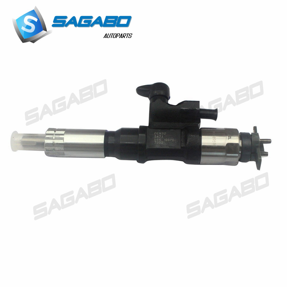 100% Echt En Nieuwe Common Rail Injector 8-98284393-0 095000-0660 Voor Hitachi Zx200-3 Zx330-3 Graafmachine