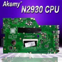 Akemy X751MA материнская плата для ноутбука ASUS X751MA X751M K751M X751 тесты оригинальная материнская плата N2930 процессор 4 ядра