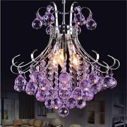 2019 luksusowe kryształowy żyrandol lampa do salonu nabłyszczania de cristal światła w pomieszczeniach kryształowe wisiorki dla żyrandole darmowa wysyłka w Wiszące lampki od Lampy i oświetlenie na