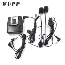 Motorcycle Walkie Talkie Helmet Intercom Songs Interphone Headset With Two Dust Plugs For Motor Travel Can Answer The Phone