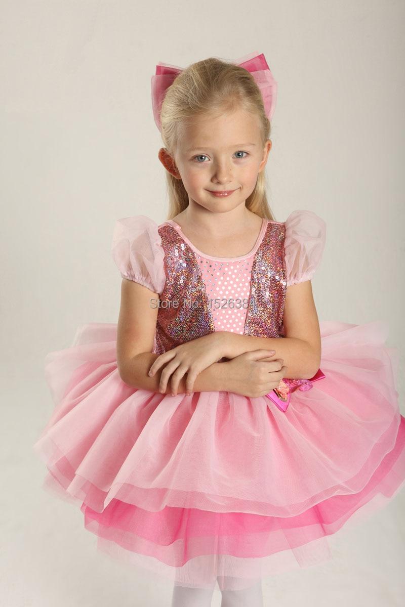 Lentejuelas arco romántico Ballet Tutu vestido niños adulto princesa ...