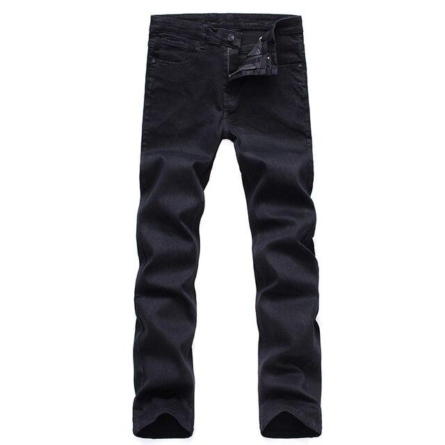 Classic Black Stretch Jeans 10