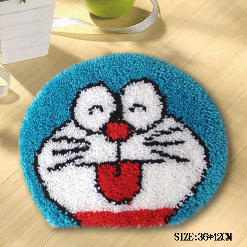 17new Home Diy Handmade Small Rugs Carpet Embroidery Semi Finished Products Seat Cushions Creative Wool Crochet Weaving In Rug From Garden On