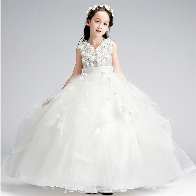 5~13Years Teens Kids Girls Wedding Birthday Party Princess Long Dress Children Toddler Pageant Formal Sleeveless Dress Clothes5~13Years Teens Kids Girls Wedding Birthday Party Princess Long Dress Children Toddler Pageant Formal Sleeveless Dress Clothes