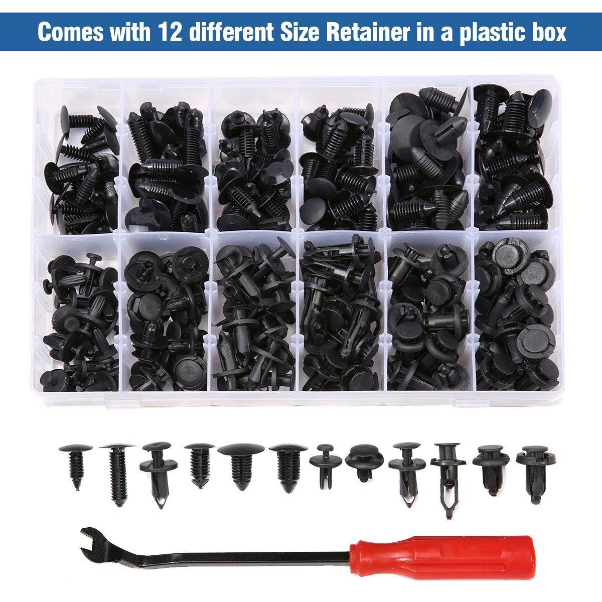 [240x]Push Retainer-Most Popular Sizes- Fastener Remover For Chevrolet Aveo Blazer Camaro Caprice Captiva Celta Classic Cobalt