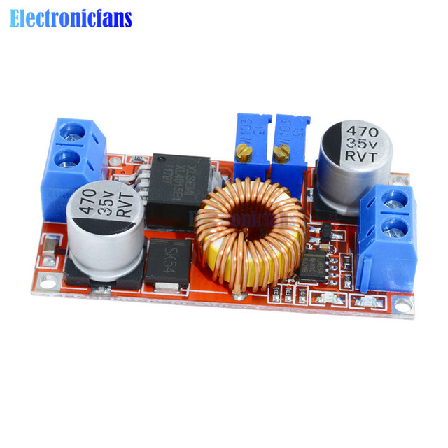 5A DC to DC CC CV Lithium Battery Step down Charging Board Led Power Converter Lithium Charger Step Down Module XL4015|Integrated Circuits|   -