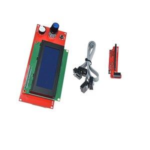 Image 5 - Controlador de piezas inteligentes rampas 1,4 LCD 12864, Panel de Control LCD 12864/2004, Monitor de pantalla, placa base, módulo de pantalla azul, 1 ud.