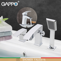 GAPPO Shower Faucets Bathtub Faucet water mixer sink tap bathroom mixer bathroom faucet sanitary ware mixer shower