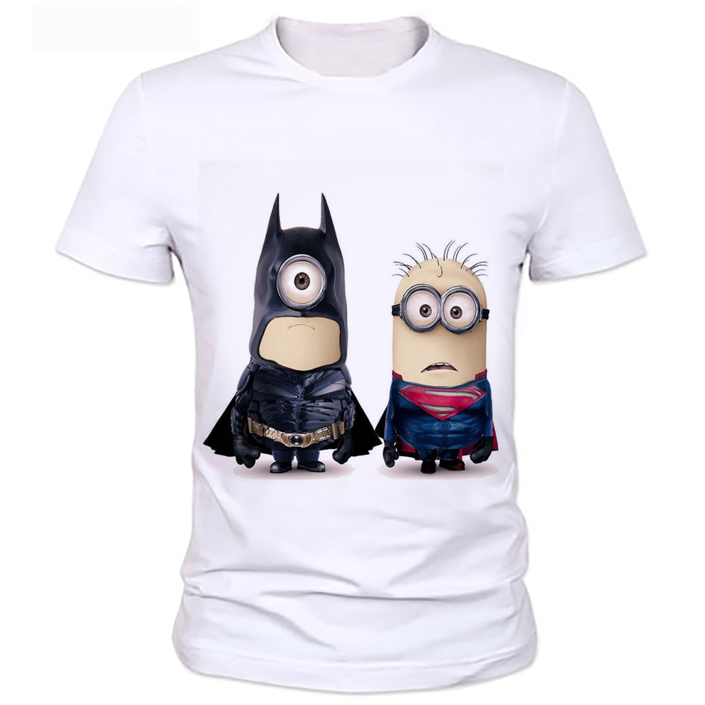 Despicable Me Minions Personalized Cartoon Superhero T-shirts